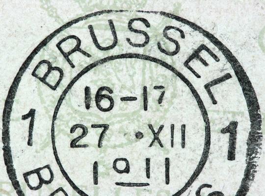 Poststempel Brussel