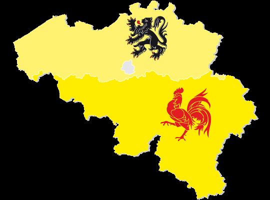 Vlaanderen - Wallonië